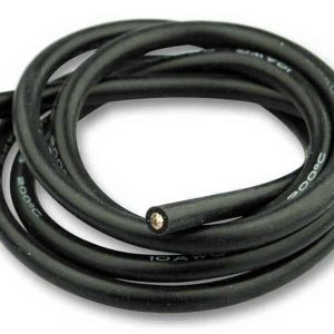 Silicone cable 6mm² x 1.000mm 10AWG (Black)
