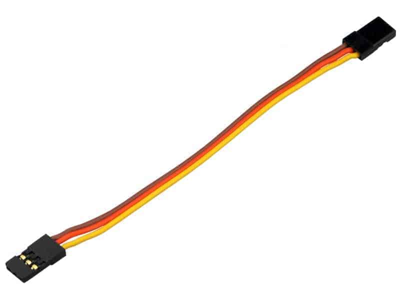 Servo patch cable YUKIJAR 10cm bulk