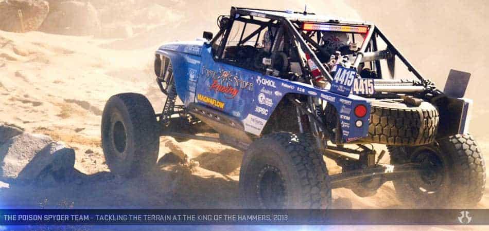 Axial Jeep Wrangler Wraith RTR - Poison Spyder