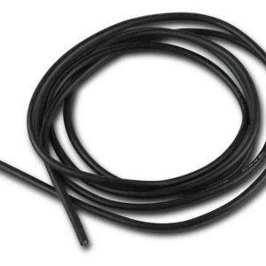 Silicone cable 0,75mm² x 1.000mm 18AWG (Black)