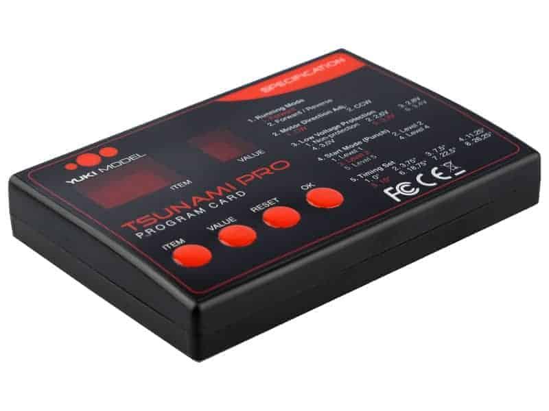 TSUNAMI PRO LED-ProgCard