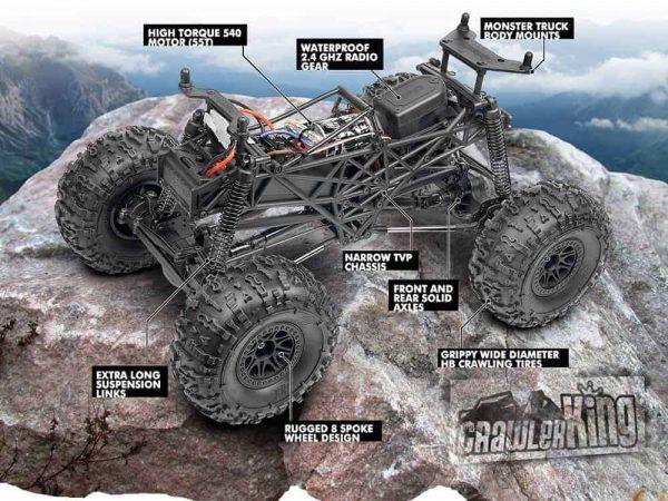 HPI Crawler King 4x4 RTR Ford Raptor