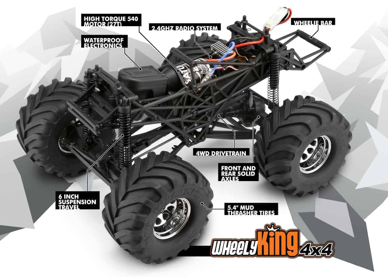 HPI Wheely King 4x4 RTR
