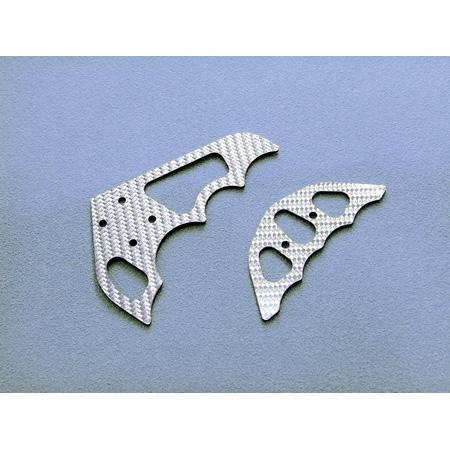 Xtreme Graphite tail fins (SILVER)