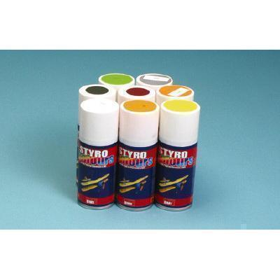 Styro Fluo Yellow Satin