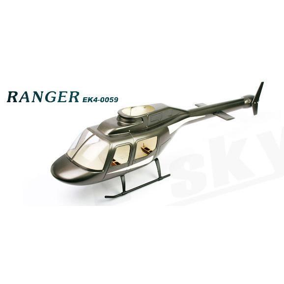 (EK4-0059) - Ranger Scale Cabin for Belt-CP
