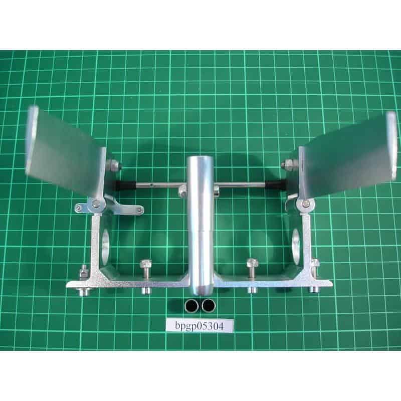 CNC Double Rudder-L 120mm