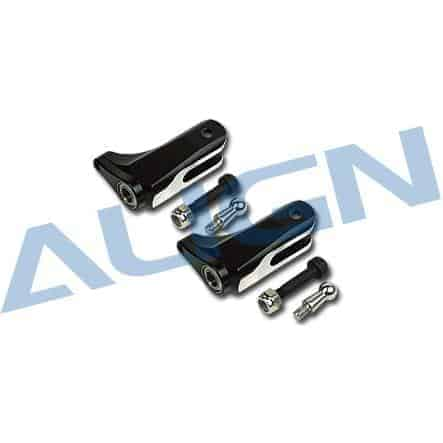 (H45016) - Metal Main Rotor Holder Set for T-Rex 450 Pro