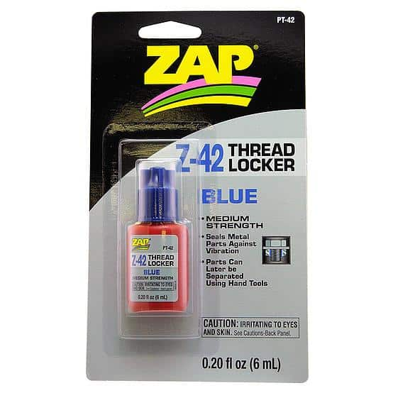 ZAP Threadlock BLUE 6ml  - (PT42)