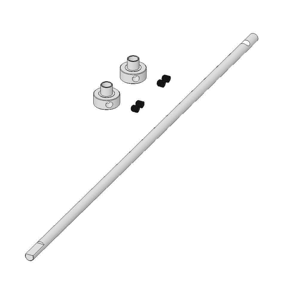 (MUL-223002) - Main rotor shaft