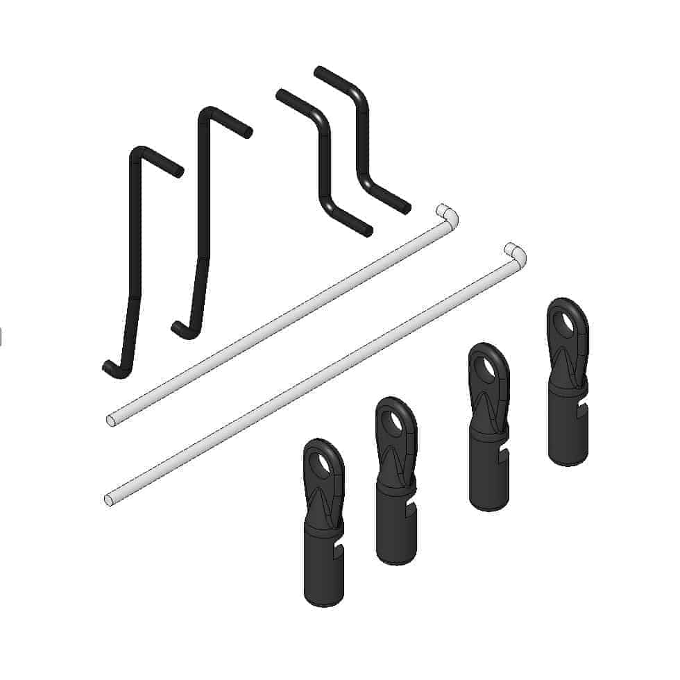 (MUL-223005) - Pushrod set