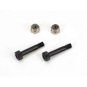 (BLH1616) - Main Rotor Blade Mounting Screw&Nut Set (2): B450