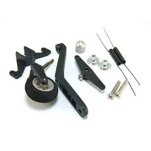 Tail Wheel System. w/ Steering & Spring 60-120 Size