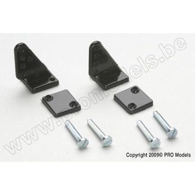 Small Control Horn 19mm, ø1mm holes (2pcs)