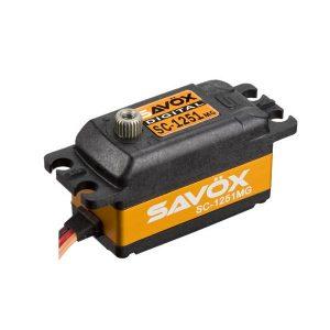 SAVOX SC-1251MG Low profile 7Kg (Metal gear)