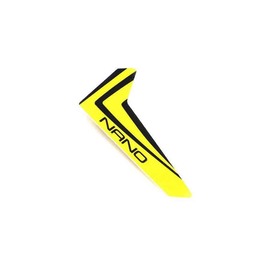 (BLH3320) - Yellow Vertical Fin with decal: nCP X