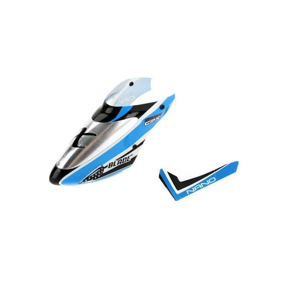 (BLH3318A) - Complete Blue Canopy with Vertical Fin: nCP X