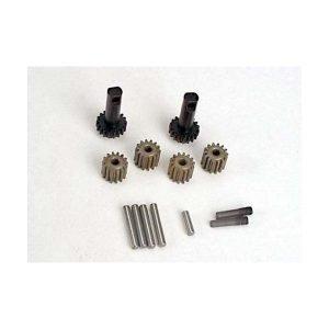 (TRX-2382) - lanet gears (4)/ planet shafts (4)/ sun gears