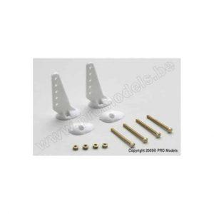 Control horn 22mm w/ screws (2pcs)