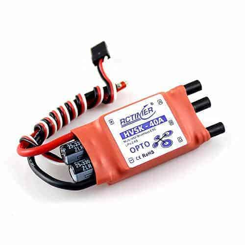 HVSK-40A SimonK Firmware High Voltage OPTO Brushless ESC (2-6S)