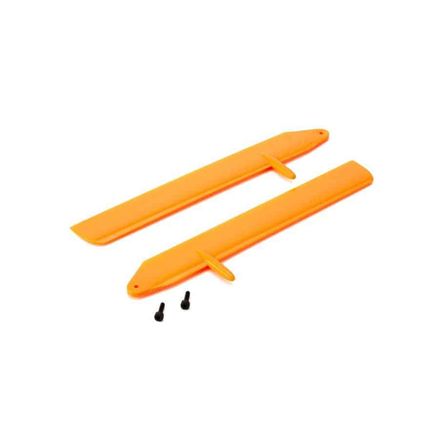 (BLH3715OR) - Fast Flight Main Rotor Blade Set, Orange: 130 X