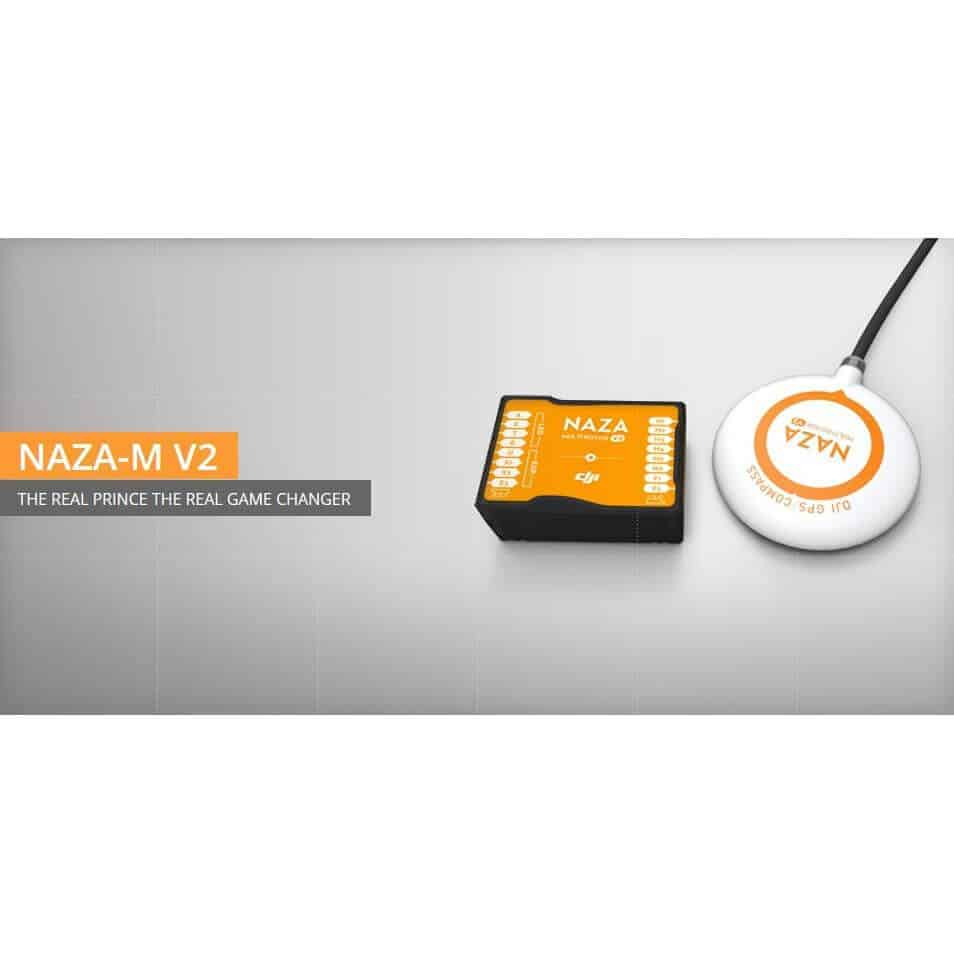 DJI Naza-M V2 multirotor flight-control system with GPS