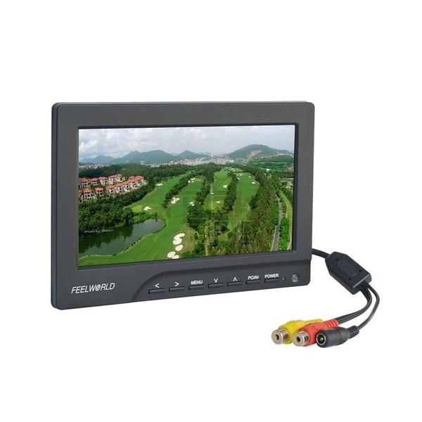 "Feelworld 7"" FPV Monitor 800x480 16/9 TFT 400cd/m²"