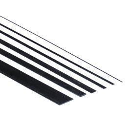 Carbon fiber Batten 1,0 x 25.0 x 1000mm