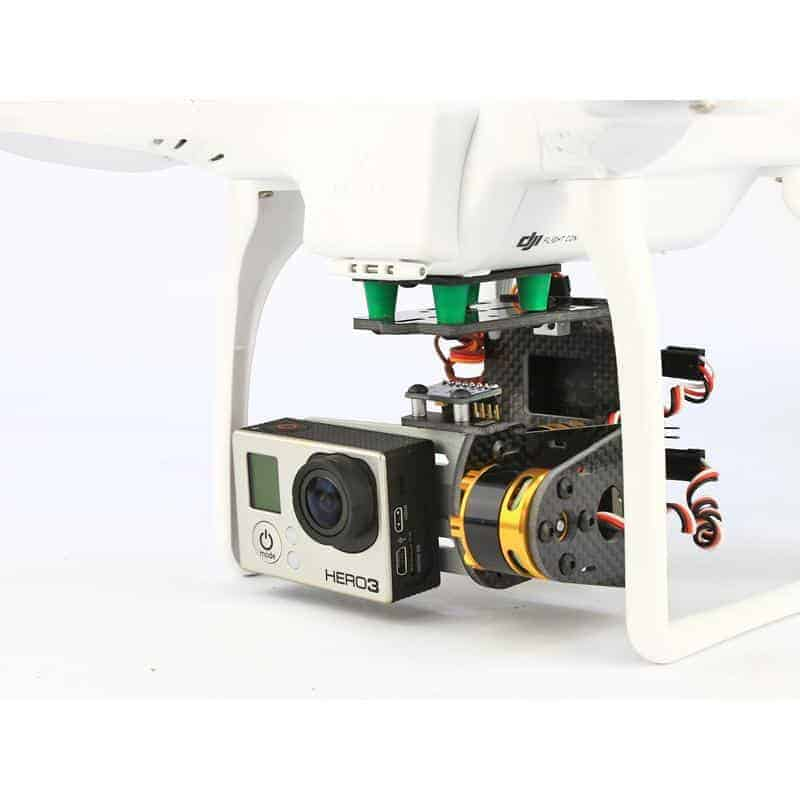 Brushless Camera Gimbal Kit (without motors and controller)