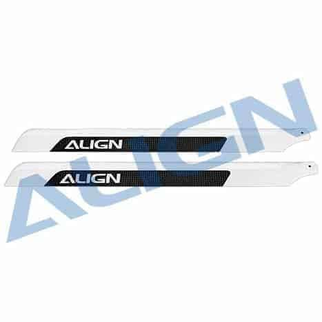 (HD520A) - 520 Carbon Fiber Blades (OLD H55001T)