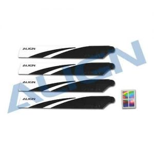 (HD123A) - 120 Main Blades-Black