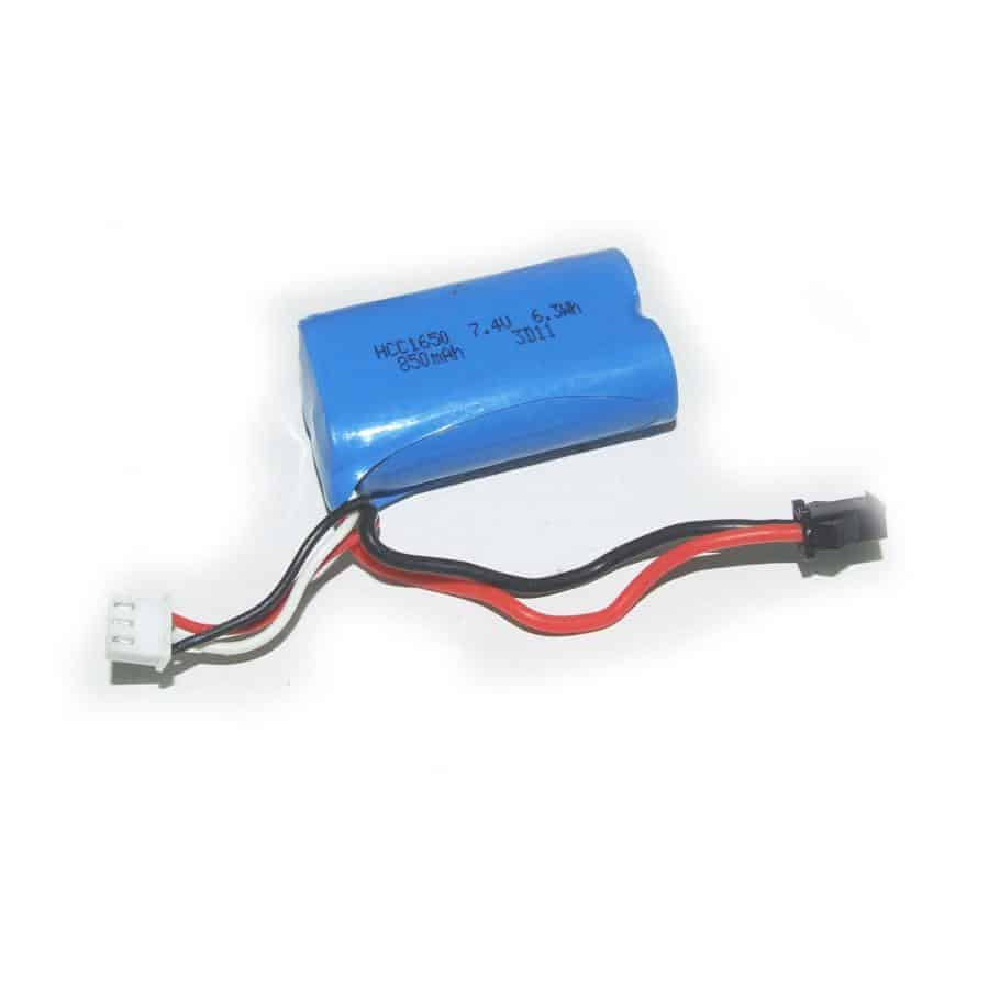 (YEL14008) - YellowRC Battery pack 7.4V 850mAh for 1/12 Racers