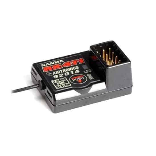 Sanwa RX-471 Small super response 2.4GHz 4ch Receiver