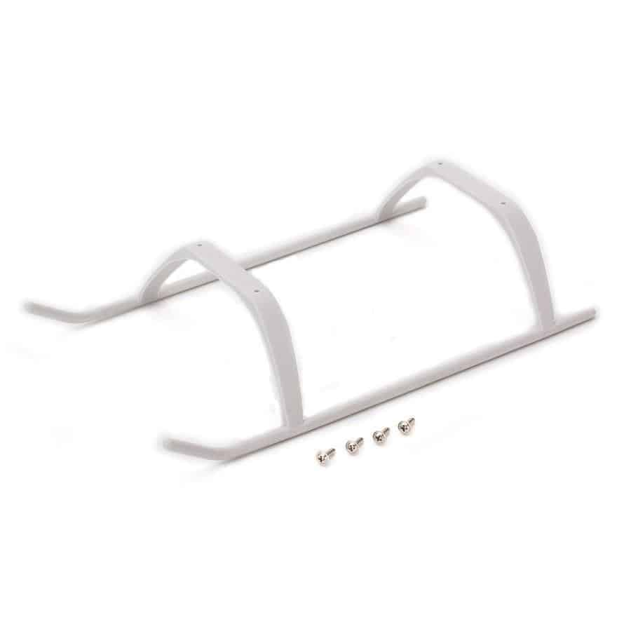 (BLH2014) - Landing Gear with Hardware, White: 200 SR X