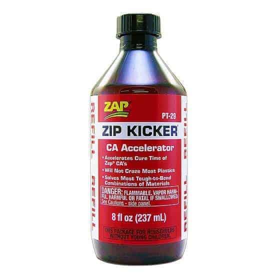 ZAP Zip Kicker (Ca Accelerator) - 237ml REFILL