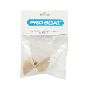 "(PRB0153) - 1 2.74"" x 4.2"" Bronze Alloy Propeller  by Pro Boat"