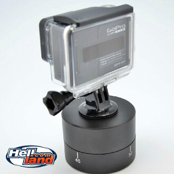 Time Lapse 360° Auto Rotation Pan Rotation Scenelapse for GoPro