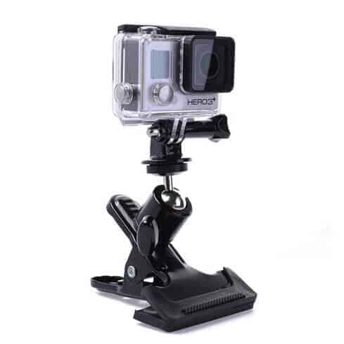 GoPro Clamp Mount with rotation