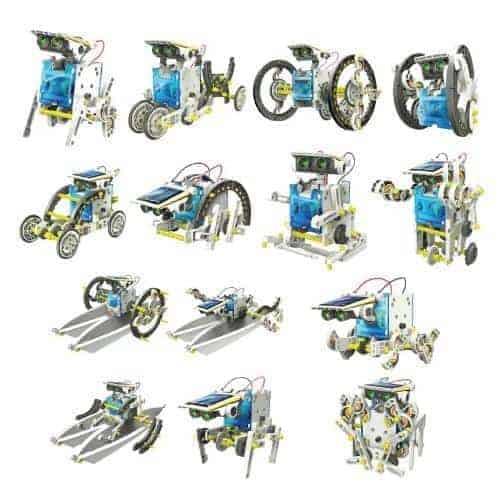 Ρομποτικές κατασκευές 14 σε 1 (με ηλιακή ενέργεια)