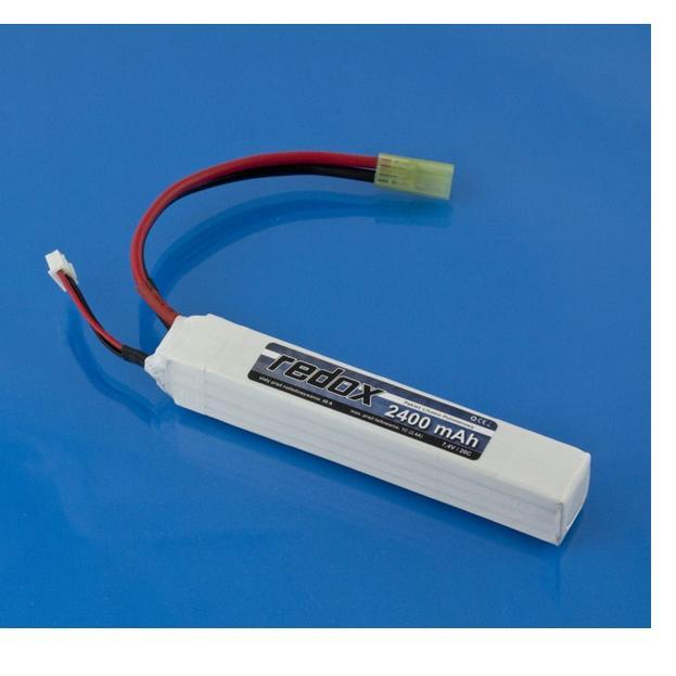 Redox ASG 2400 mAh 7,4V 20C (integrated) (Mini-tamiya)