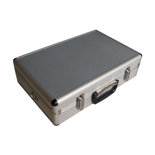 Aluminium double case for 2 transmitters