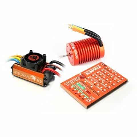 Leopard 60A ESC for 1/10 Car 3300KV