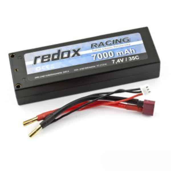Redox RACING 7000mAh 7,4V 35C - car LiPo pack