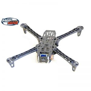Reptile X450 FPV Quadcopter Frame Kit with CCD Camera