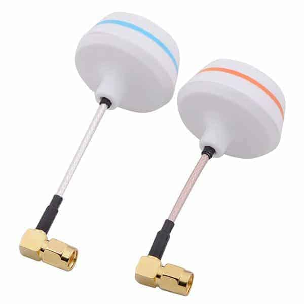 5.8G Right Angle SMA Female Cloverleaf Antenna