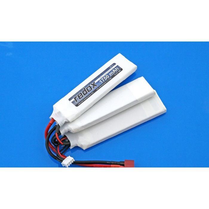 Redox ASG 1750 mAh 11,1V 20C (splitted) (1+1+1) - LiPo pack