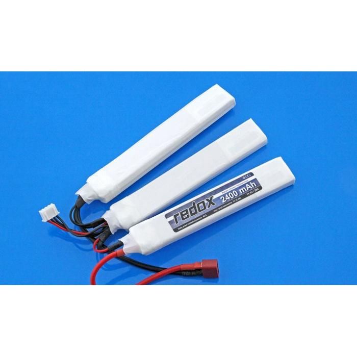 Redox ASG 2400 mAh 11,1V 20C (splitted) (1+1+1) - LiPo pack