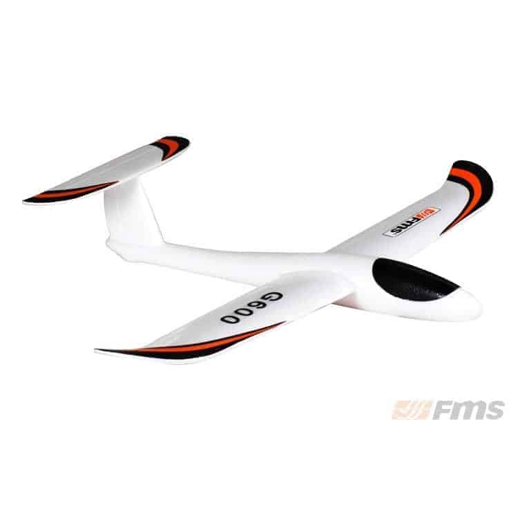 G600 Hand Launch Glider 600mm White, not RC