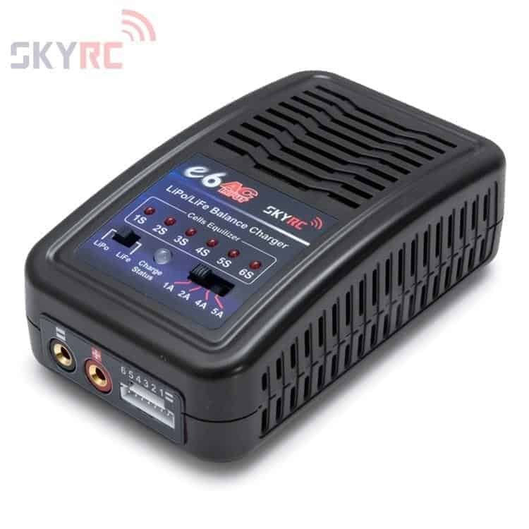 SkyRC e6 LiPo/LiFe Charger 2-6cell 50W 240VAC