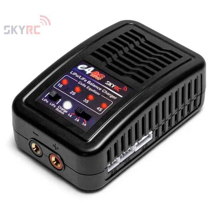 SkyRC  e4 LiPo Charger 2-4cell, 20W 240VAC